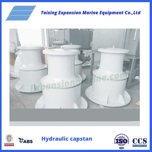 10Thydraulic capstan winch from expansion marine