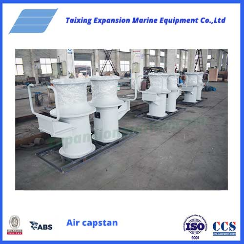 1T Gas air pneumatic Capstan capstan from expansion marine
