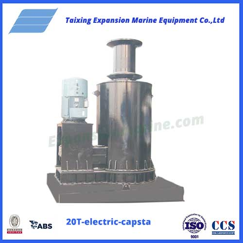 20T electric capstan of expansion marine