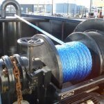 Anchor windlass Winch
