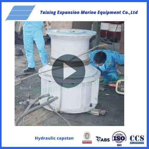 2T hydraulic capstan test