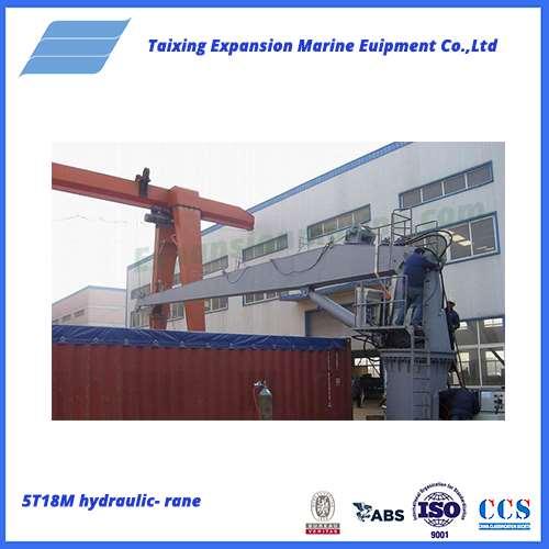 5T18Mhydraulic crane