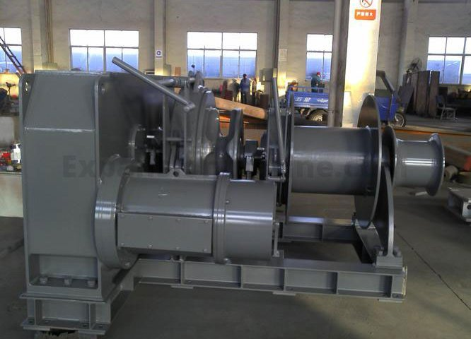 40T windlass winch from expansion marine