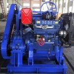 7T desiel engine winch