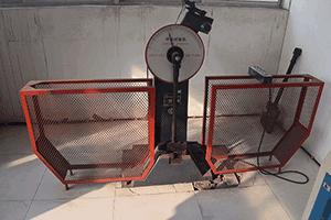 Material impact testing