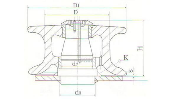 JIS F2014-1987 Fairlead Roller