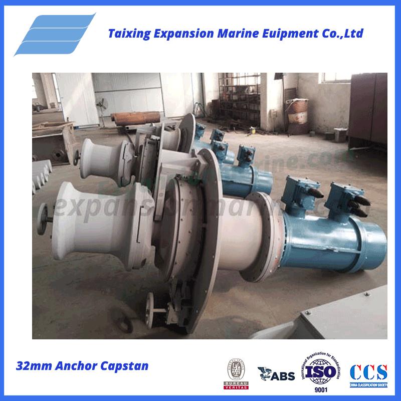 32mm capstan winch windlass