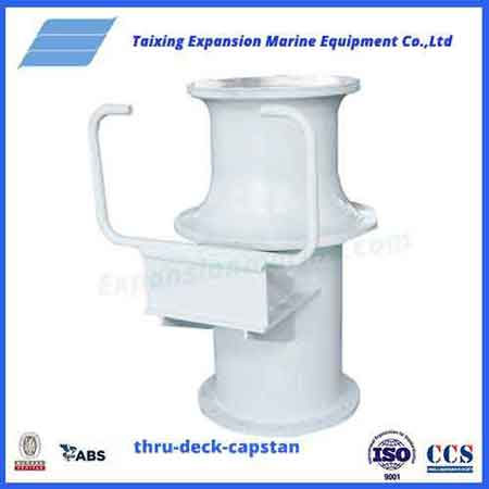 Gas powered capstan
