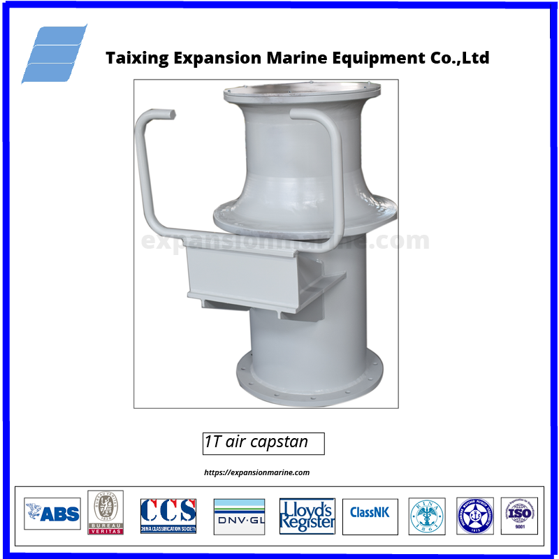 1T-pneumatic-capstan winch