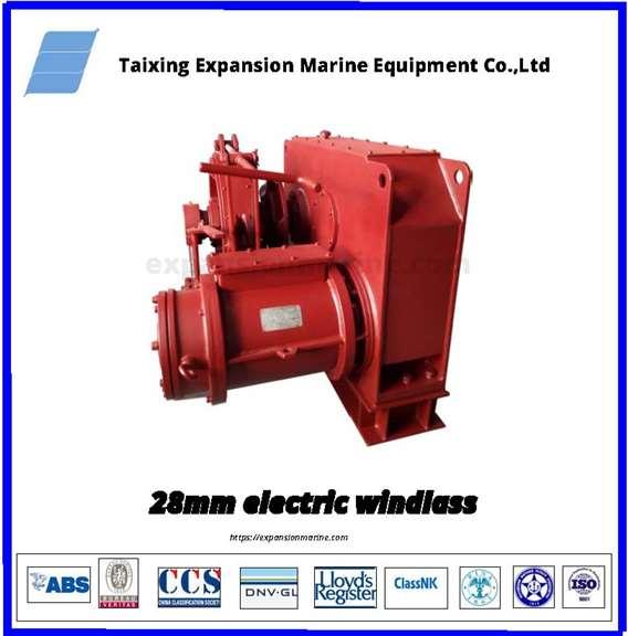 28mm electric windlass